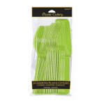 Kiwi Green Assorted Cutlery - 12 PKG/24