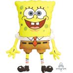 """SpongeBob SquarePants SuperShape Foil Balloons 22""""/56cm w x 28""""/71cm h P35 - 5 PC"""