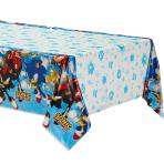 Sonic the Hedgehog Plastic Tablecovers 1.3m x 2.4m - 6 PC