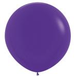 "Fashion Colour Solid Violet 051 Latex Balloons 36""/91.5cm - 2 PC"