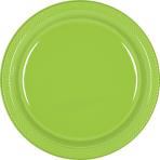 Kiwi Green Plastic Plates 22.8cm - 10 PKG/20