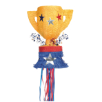 Trophy Pull Pinatas - 4 PC