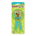 Scooby Doo Confetti Pouch Award Ribbons - 6 PKG