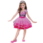 Barbie Ballet Girls Costume - Age 2-3 Years - 1 PC