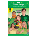 St. Patrick's Day Photo Props - 8 PKG/13