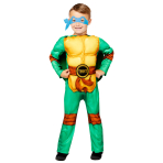 Teenage Mutant Ninja Turtles Deluxe Costume - Age 3-4 Years - 1 PC