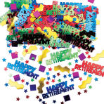 Rocking Retirement Multi Metallic Mix Confetti 14g -12 PC