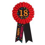 18th Birthday Award Ribbon - 6 PKG