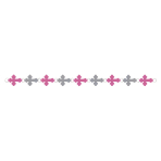 Pink Religious Ring Garlands - 18 PKG
