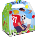 Favours Party Box Football - 75 PKG