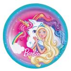 Barbie Dreamtopia Paper Plates 23cm - 10 PKG/8