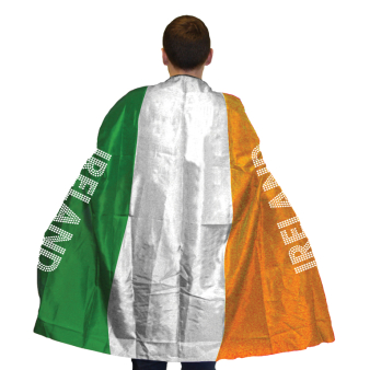 Ireland Flag Body Cape - One size fits all - 6 PC