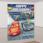 Cars 3 Wall Decoration Kit - 6 PKG/5