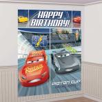 Cars 3 Wall Decoration Kit - 6 PKG/5