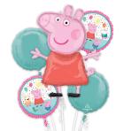 Peppa Pig Foil Balloon Bouquets P75 - 3 PC