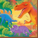 Prehistoric Party Luncheon Napkins - 12 PKG/16