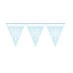 Radiant Cross Blue Pennant Banners 3.65m -12 PC