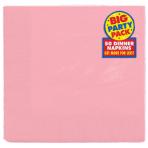 Baby Pink Dinner Napkins 40cm 2ply - 12 PKG/50