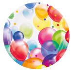 Balloon Fiesta Paper Plates 23cm - 10 PKG/8