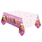 Paw Patrol Pink Plastic Tablecovers 1.37m x 2.43m - 6 PC