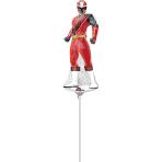 "Power Rangers Mini Shape Foil Balloons 6""/15cm w x 15""/38cm h A30 - 5 PC"