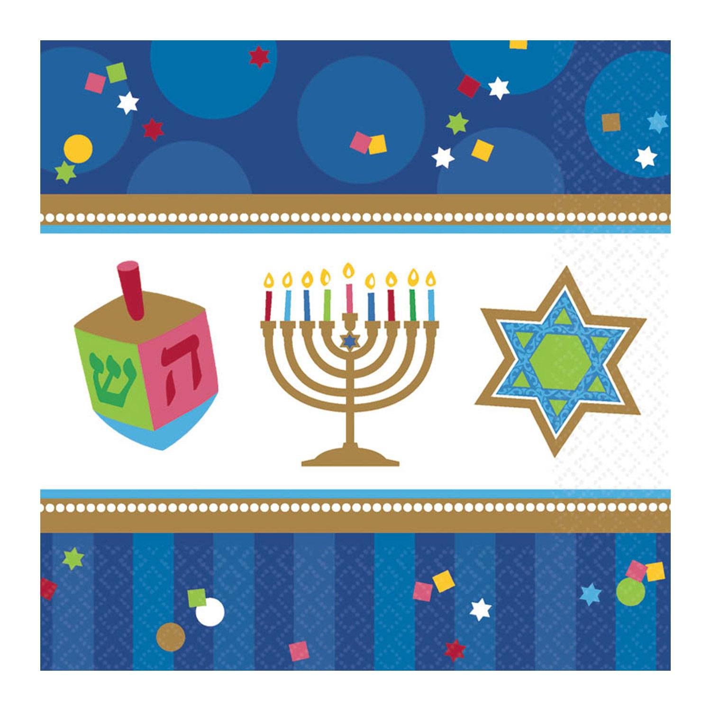 Hanukkah Celebrations Papier Party Getränke Servietten x 36 | eBay