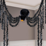 Honeycomb Hanging Spiders 3.6m - 6 PC