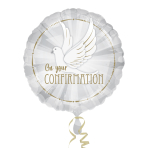 Confirmation Dove Standard Foil Balloons S40 - 5 PC
