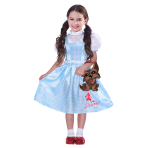 Wizard of Oz Dorothy Costume - Age 6-8 Years - 1 PC