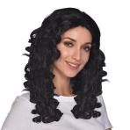Long Wavy Black Wigs - 6 PC