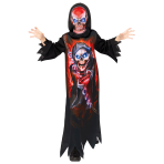 Gaming Reaper Costume - Age 6-8 Years - 1 PC