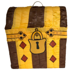 Treasure Chest Pinatas - 4 PC