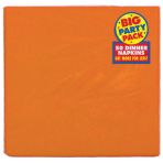 Orange Peel Paper Dinner Napkins 40cm 2ply - 12 PKG/50