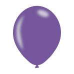 "Metallic Violet Latex Balloons 11""/27.5cm - 10PKG/10"