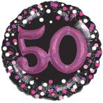Pink Celebration 50 Foil Multi-Balloons P75 - 5 PC