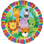 Jungle Friends Standard Foil Balloons S40 - 5 PC
