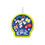 Epic Party Candles 6cm - 12 PC