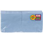 Pastel Blue luncheon Napkins 33cm - 6 PKG/125