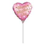 Happy Mother's Day Satin Luxe Mini Balloons A15 - 5 PC