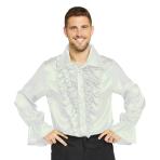 Satin White Shirt - Small Size - 1 PC