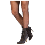 Black Fishnet Tights - One Size - 1 PC