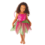 Girls Mulberry Fairy Costume - Age 4-6 Years - 1 PC