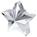 Silver Star Balloon Weights 150g/5oz - 12 PC