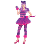 Teens Cheshire Cat Costume - Age 10-12 Years - 1 PC