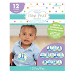 Baby Shower Stickers Boy - 12 PKG/12