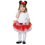 Disney Red Minnie Tutu and Headband - Age 3-12 Months - 1 PC