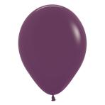 "Fashion Colour Solid Burgundy 018 Latex Balloons 5""/13cm - 100 PC"