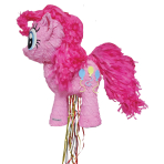 Pinkie Pie Pull Pinatas - 4 PC