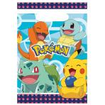 Pokémon Plastic Loot Bags - 6 PKG/8