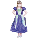 Reversible Princess to Witch Costume - Age 9-11 Years - 1 PC